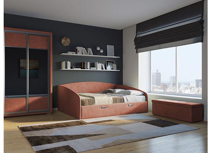 Кровать Орматек Bono (цвета люкс и ткань) Серый