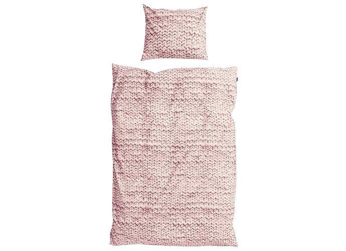 Постельное белье Snurk Косичка (перкаль) розовый