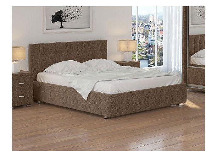 Кровать Орматек Veda 1 ткань Глазго коричневый