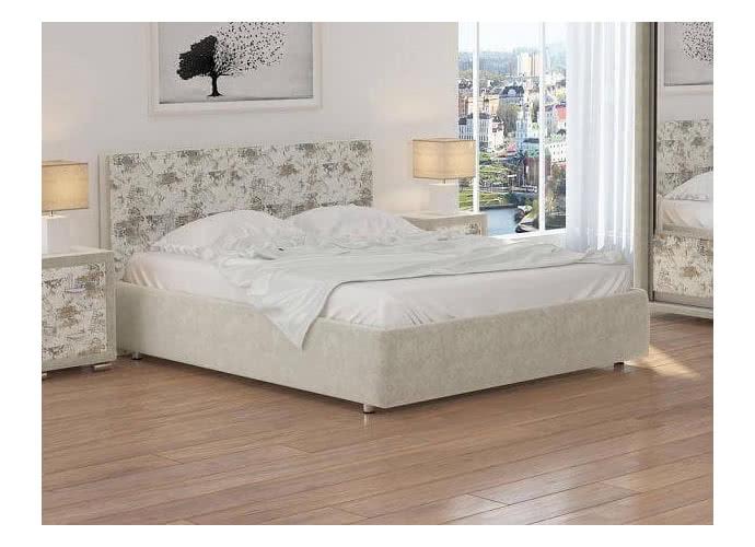 Кровать Орматек Veda 1 ткань Лофти бежевый