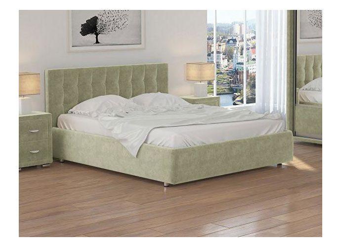 Кровать Орматек Veda 1 ткань Лофти олива