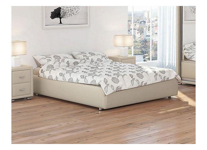 Кровать Орматек Como 1 Base цвета люкс и ткань Бежевый перламутр (5062)