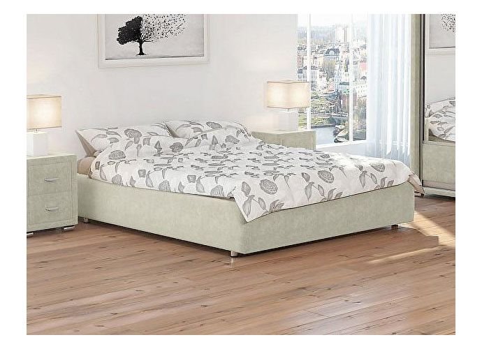 Кровать Орматек Como 1 Base цвета люкс и ткань Лофти лен