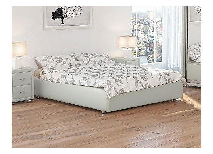 Кровать Орматек Veda 1 Base цвета люкс и ткань Молочный перламутр (5061)