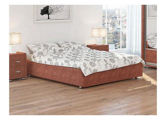 Кровать Орматек Veda 1 Base цвета люкс и ткань Лофти рыжий