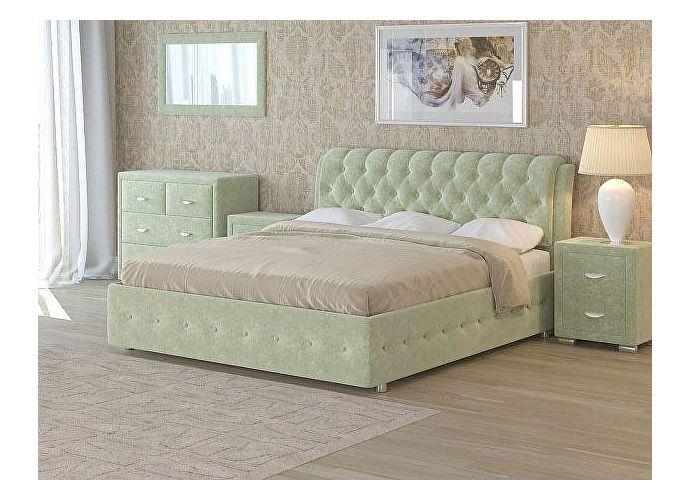 Кровать Como 4 Орматек (ткань и цвета люкс) Лофти олива