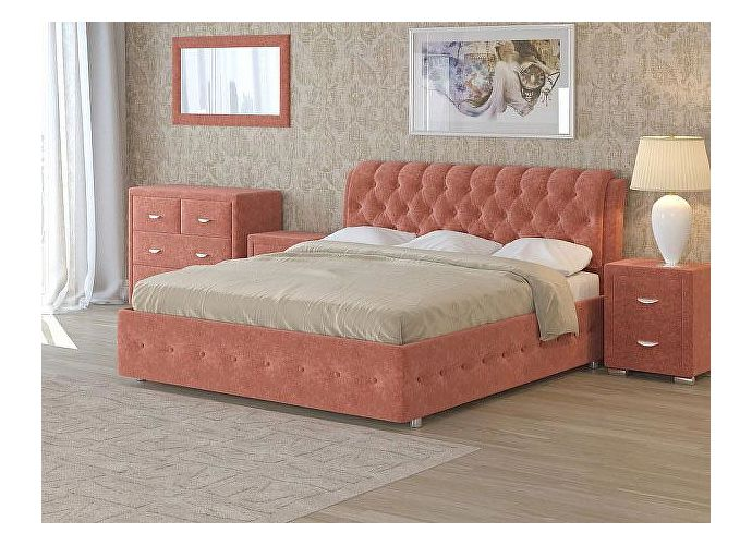 Кровать Como 4 Орматек (ткань и цвета люкс) Лофти рыжий