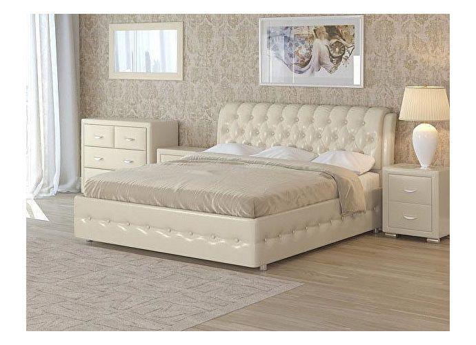Кровать Como 4 Орматек (ткань и цвета люкс) Бежевый перламутр (5062)