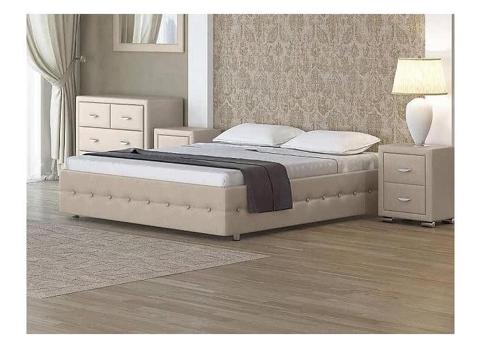 Кровать Орматек Como 4 Base цвета люкс и ткань Бежевый перламутр (5062)