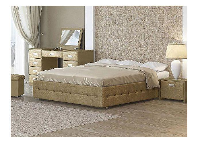 Кровать Орматек Como 4 Base цвета люкс и ткань Золото Sprinter gold (2331)