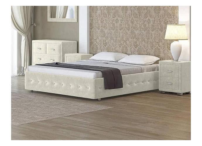 Кровать Орматек Como 4 Base цвета люкс и ткань Лофти лен