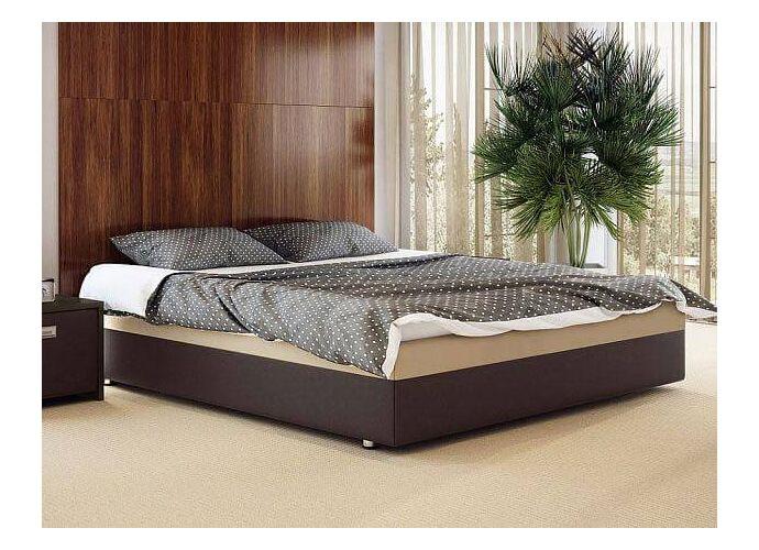 Кровать Орматек Como 5 Base Brown (TM-Venge)/Бежевый (Cream Terra-101)