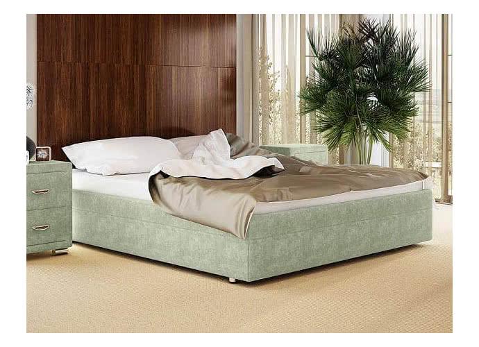 Кровать Орматек Como 5 Base ткань и экокожа Лофти олива