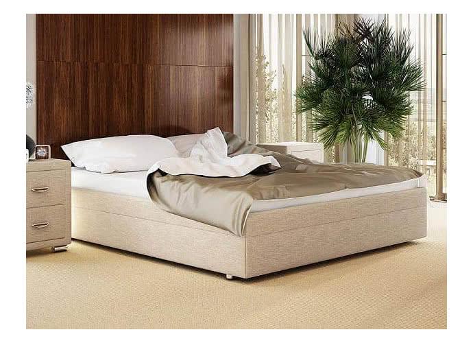 Кровать Орматек Como 5 Base ткань и экокожа Глазго бежевый