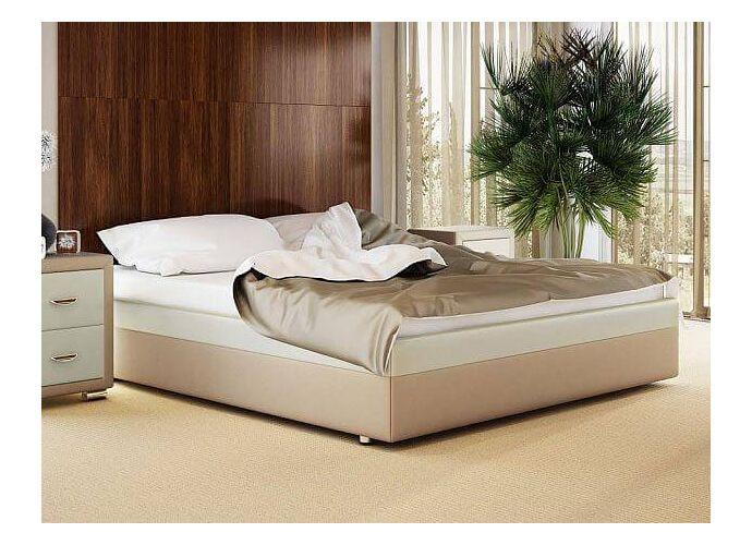 Кровать Орматек Como 5 Base ткань и экокожа Бежевый перламутр (5062)/молочный перламутр (5061)
