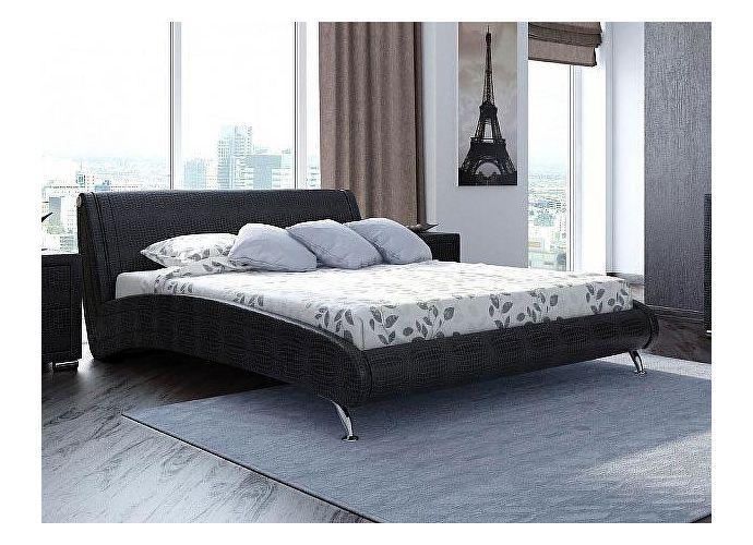 Кровать Орматек Corso-2 цвета люкс кайман черный (20391)