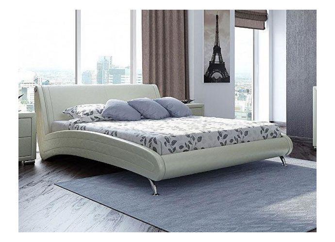Кровать Орматек Corso-2 цвета люкс молочный перламутр (5061)