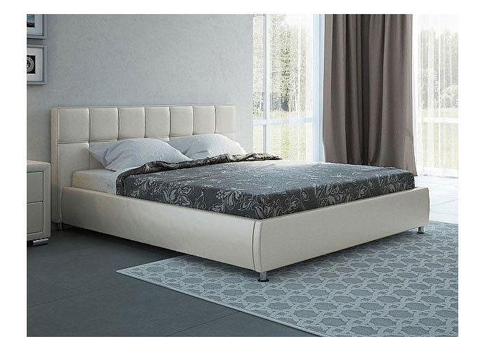 Кровать Орматек Corso-4 цвета люкс и ткань молочный перламутр (5061)