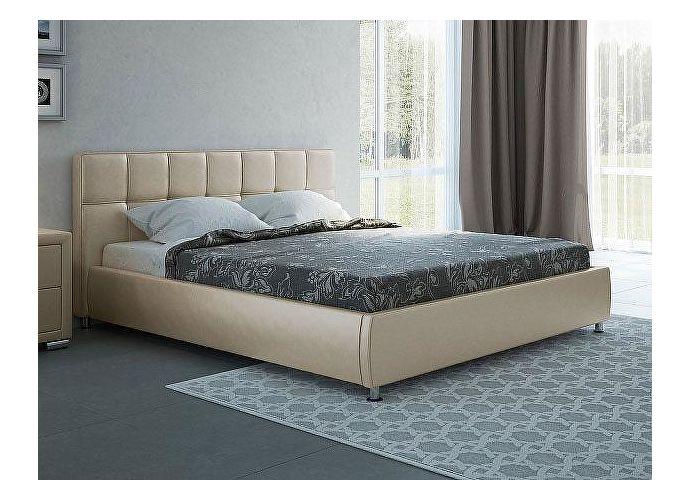 Кровать Орматек Corso-4 цвета люкс и ткань бежевый перламутр (5062)