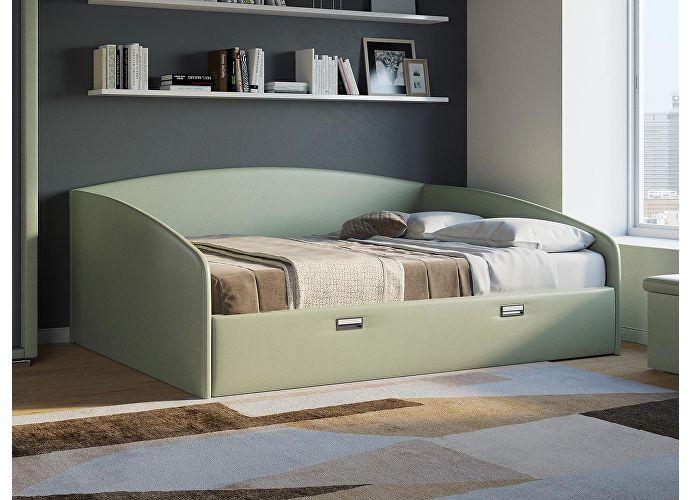 Кровать Орматек Bono (цвета люкс и ткань) Олива
