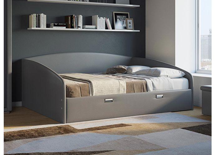 Кровать Орматек Bono (цвета люкс и ткань) Темно-серый
