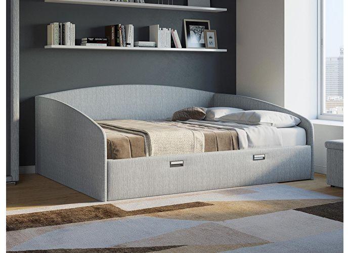 Кровать Орматек Bono (цвета люкс и ткань) Глазго коричневый