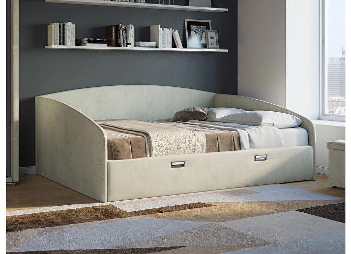 Кровать Орматек Bono (цвета люкс и ткань) Лофти рыжий