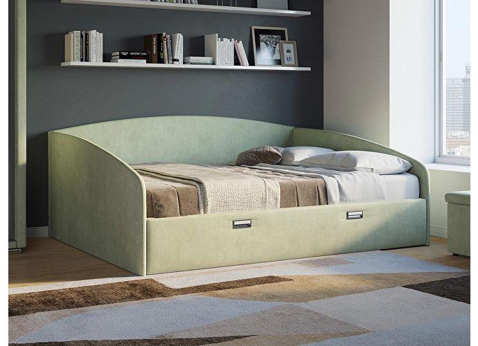 Кровать Орматек Bono (цвета люкс и ткань) Зеленое яблоко