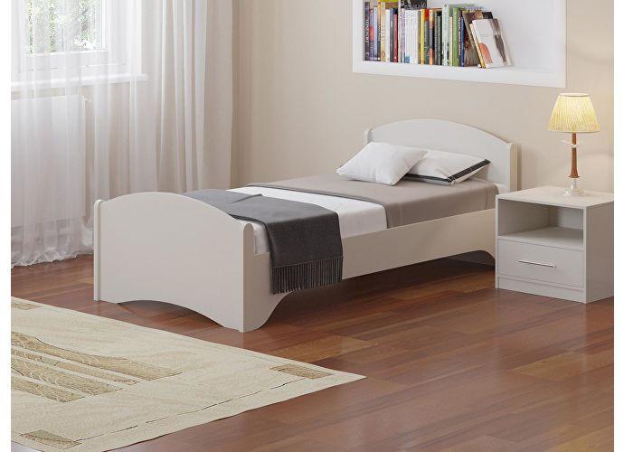 Кровать Аккорд Белый
