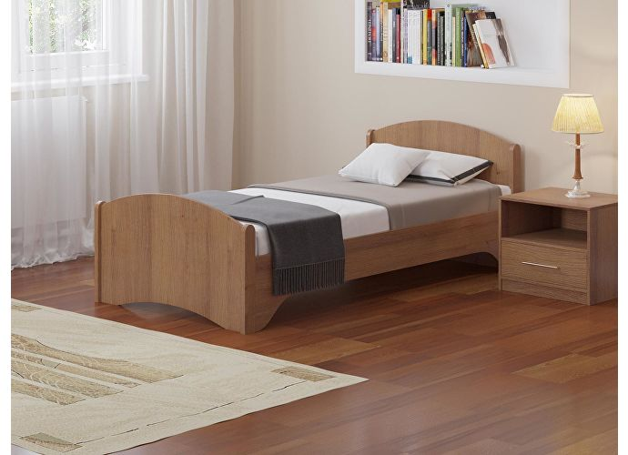 Кровать Аккорд Ноче Гварнери (орех французский)