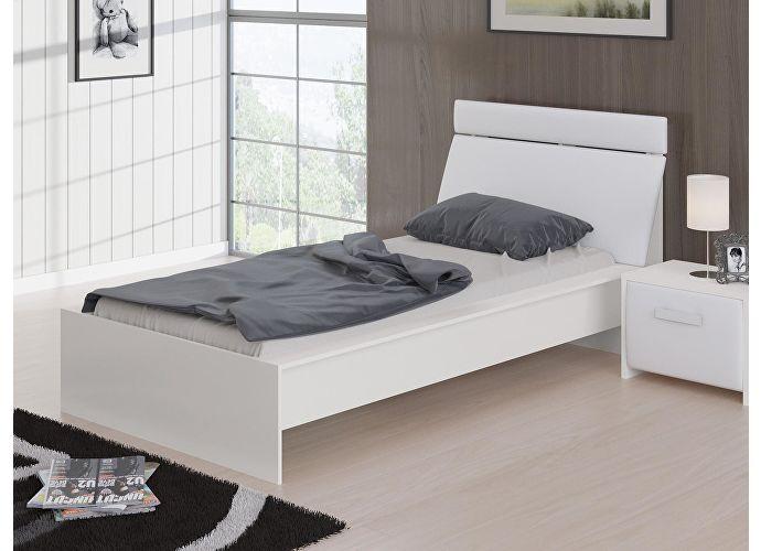 Кровать Домино Орматек белый/белый