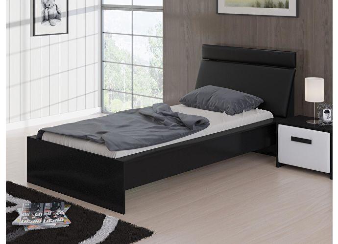 Кровать Домино Орматек черный/черный