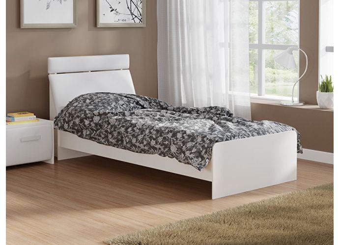 Кровать Домино 2 Орматек белый/белый
