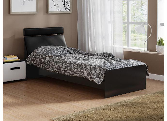 Кровать Домино 2 Орматек черный/черный