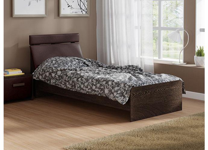Кровать Домино 2 Орматек венге/коричневый