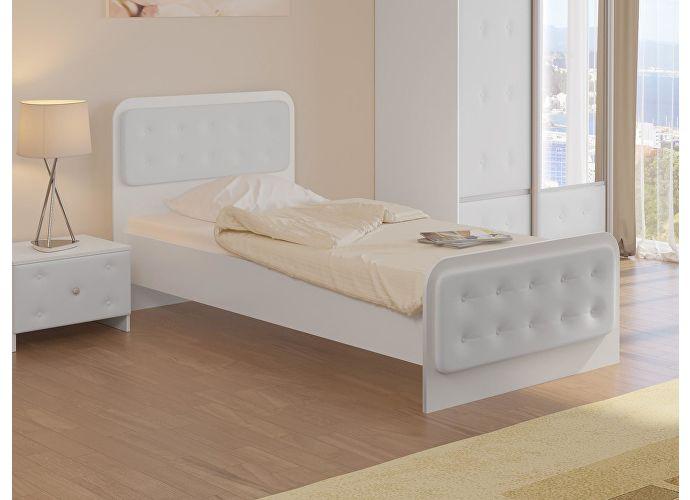 Кровать Неро Орматек белый/белый