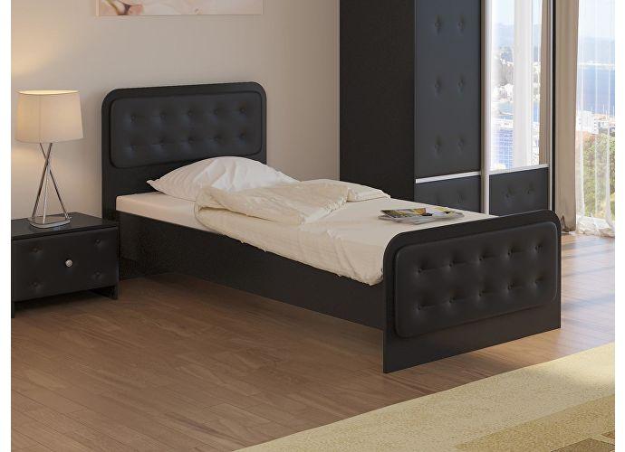 Кровать Неро Орматек черный/черный