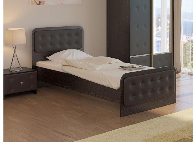Кровать Неро Орматек венге/коричневый