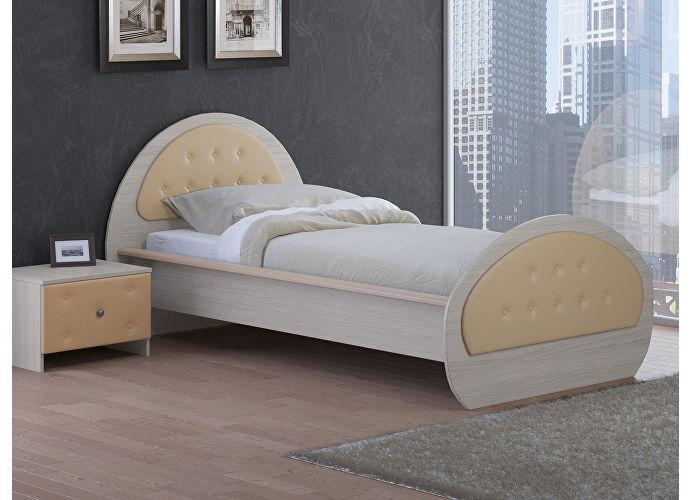Кровать Райтон Сезия венге/коричневый