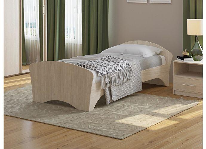 Кровать Соната Ясень шимо светлый