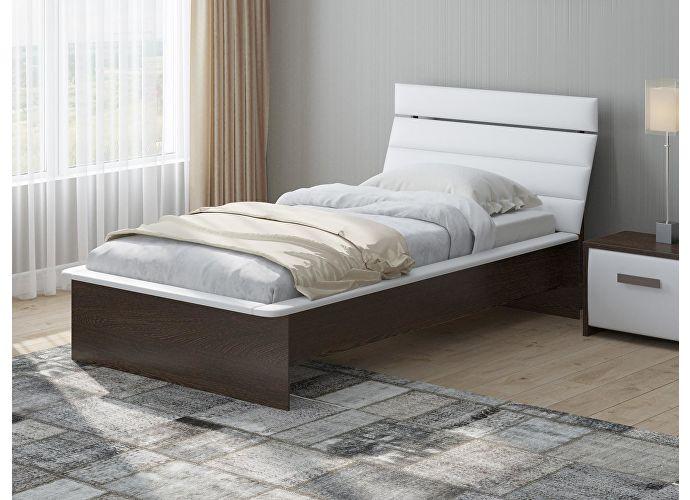 Кровать Райтон Визио 2 венге/белый