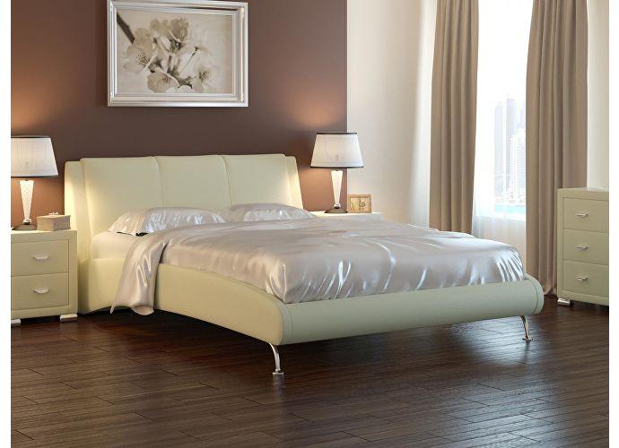 Кровать Nuvola 2 черный/белый
