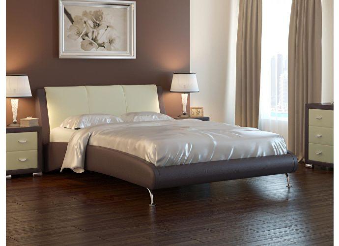 Кровать Nuvola 2 кремовый/белый
