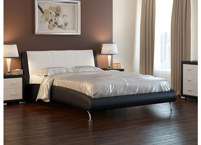 Кровать Nuvola 2 коричневый/кремовый