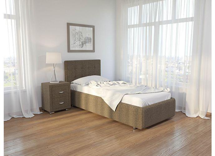 Кровать Como 1 Орматек (ткань) Глазго коричневый