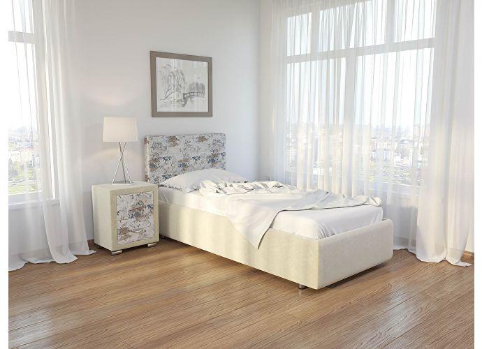 Кровать Como 1 Орматек (ткань) Лофти бежевый