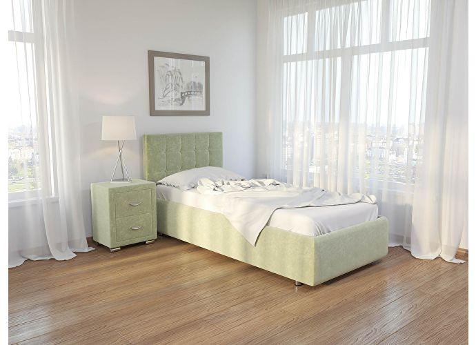 Кровать Como 1 Орматек (ткань) Лофти олива