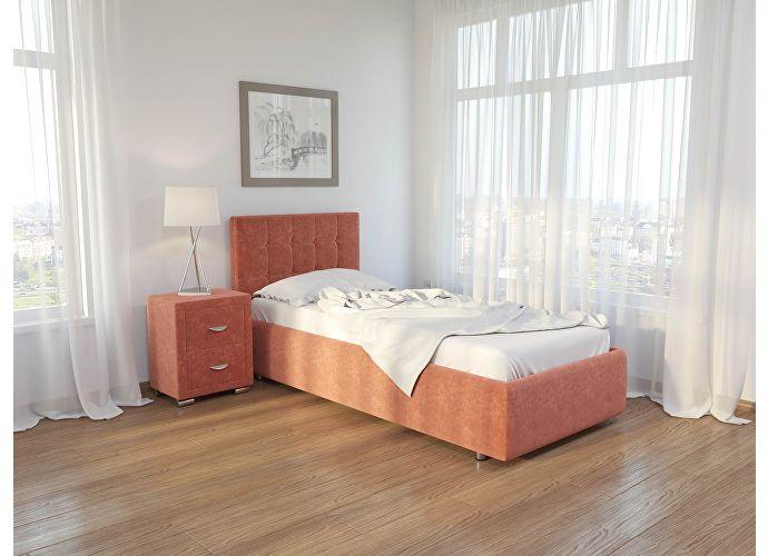 Кровать Como 1 Орматек (ткань) Лофти рыжий