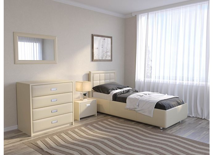 Кровать Como 2 Орматек Бежевый (Cream Terra-101)