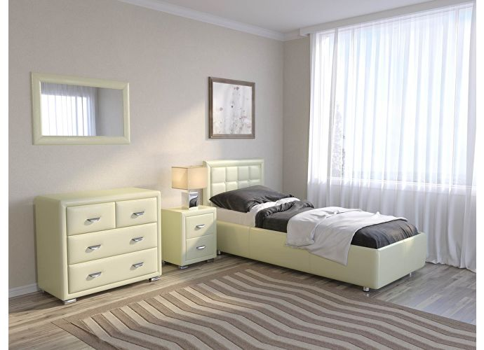 Кровать Como 2 Орматек (ткань и цвета люкс) Олива